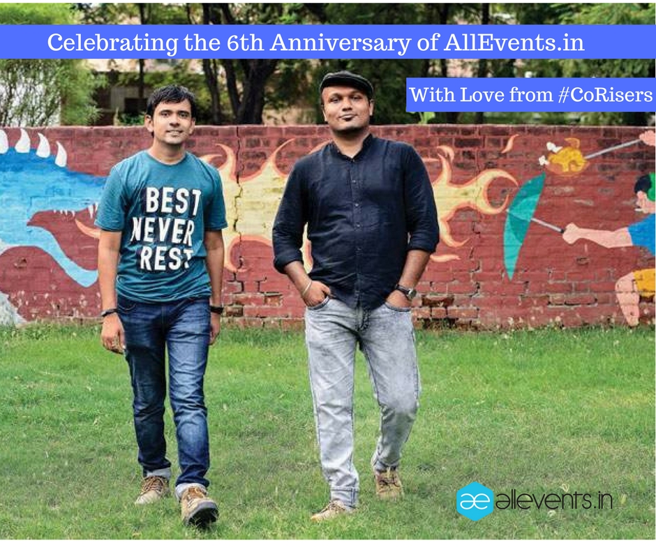 Celebrating the 6th anniversary of allevents.in